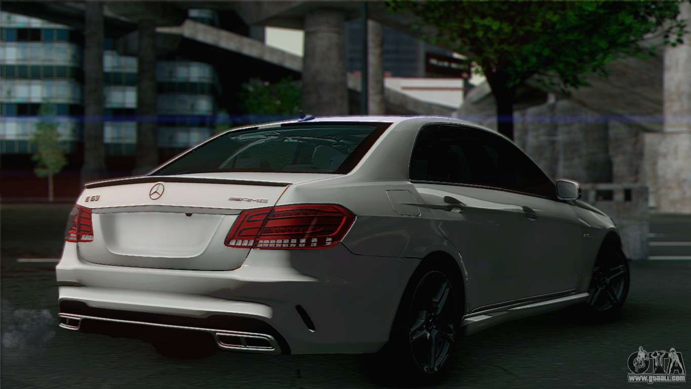 Mercedes benz e63 amg for gta san andreas for Mercedes benz gta