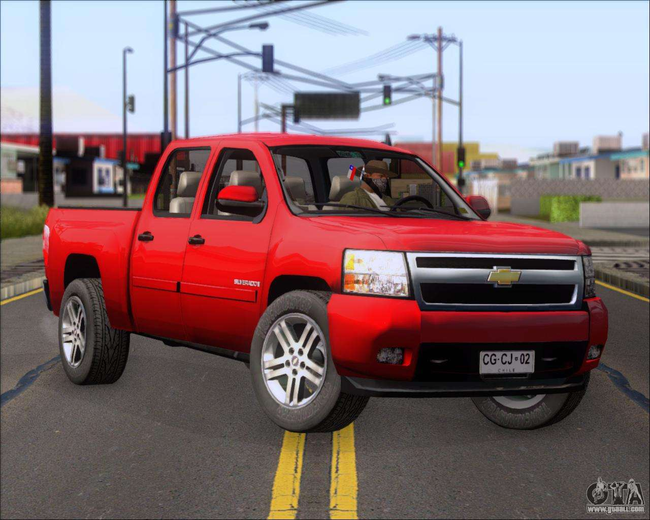 Chevrolet Silverado 2011 For Gta San Andreas
