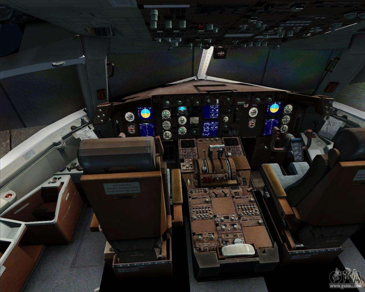 Boeing 767 300er qantas for gta san andreas for Gta sa plane interior mod
