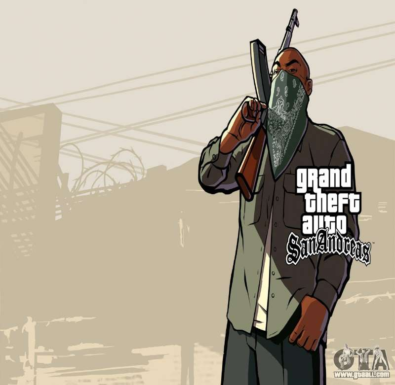 Hd Loading Screen And Menu For Gta San Andreas