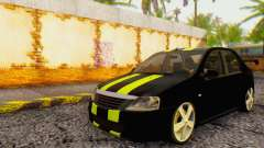 Dacia Logan Black Style for GTA San Andreas