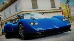 Pagani Zonda S (C12S) Roadster 2011 for GTA 4