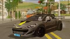 Peugeot RCZ GTS 2010 Tuned v2.0 for GTA San Andreas