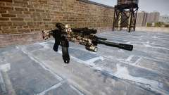 Automatic rifle Colt M4A1 zombies