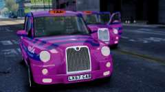 London Taxi Cab v1 for GTA 4
