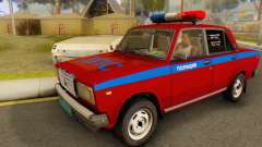 VAZ 2107 Police for GTA San Andreas