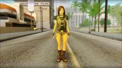 Bike Girl for GTA San Andreas