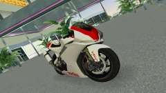 Aprilia RSV4 2009 Gray Edition for GTA Vice City