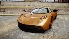 Pagani Huayra 2013 for GTA 4