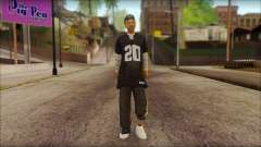 Afro - Seville Playaz Settlement Skin v4 for GTA San Andreas