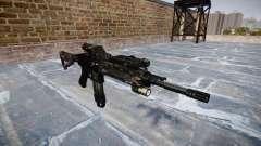 Automatic rifle Colt M4A1 kryptek typhon