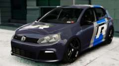Volkswagen Golf R 2010 Polo WRC Style PJ2 for GTA 4