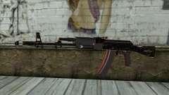 Graffiti AK47 for GTA San Andreas