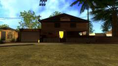 New HD textures houses on grove street v2 for GTA San Andreas
