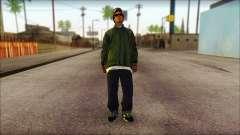 Eazy-E Green Skin v1 for GTA San Andreas