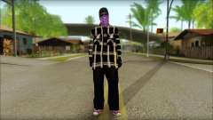 East Side Ballas Skin 3 for GTA San Andreas