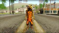 Guardians of the Galaxy Rocket Raccoon v2 for GTA San Andreas