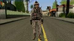 Task Force 141 (CoD: MW 2) Skin 5 for GTA San Andreas