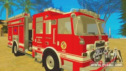 Pierce Arrow XT 2008 Los Santos Fire Department for GTA San Andreas