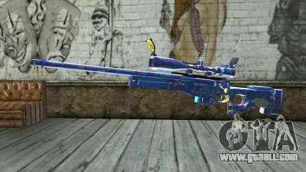 Graffiti Sniper Rifle v2 for GTA San Andreas