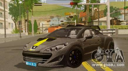 Peugeot RCZ GTS 2010 Tuned v2.0 for GTA San Andreas