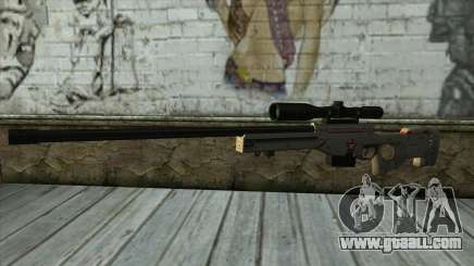 Sniper Rifle from PointBlank v2 for GTA San Andreas