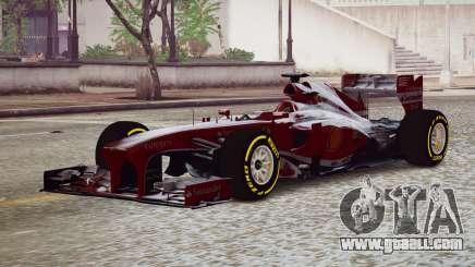 Ferrari F138 v2 for GTA 4