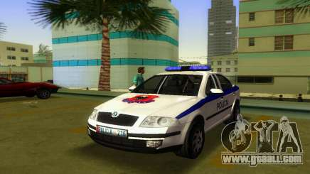 Skoda Octavia Albanian Police Car for GTA Vice City