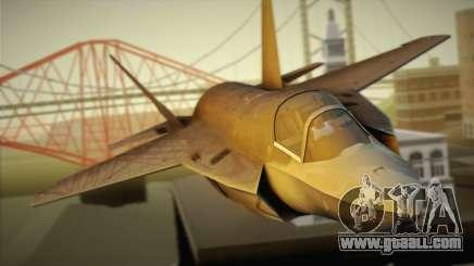 Lockheed Martin F-35A for GTA San Andreas