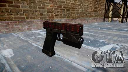 Pistol Glock 20 art of war for GTA 4