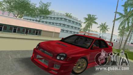Subaru Impreza WRX 2002 Type 6 for GTA Vice City