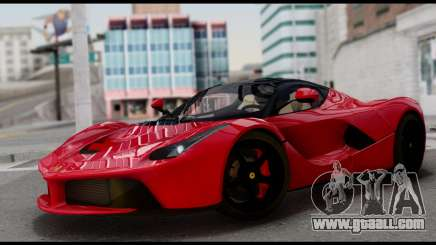 Ferrari LaFerrari 2014 (IVF) for GTA San Andreas