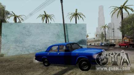 GAZ 31029 Volga Blue for GTA San Andreas