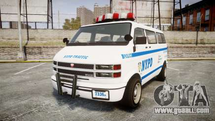 GTA V Bravado Youga NYPD for GTA 4