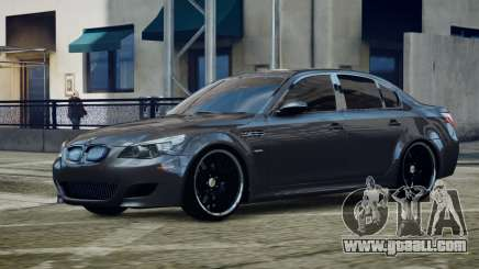 BMW M5 E60 v1 for GTA 4