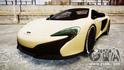 McLaren 650S Spider 2014 [EPM] Yokohama ADVAN v3 for GTA 4
