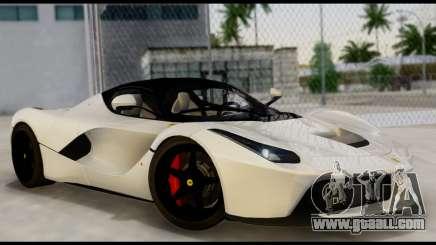 Ferrari LaFerrari 2014 (HQLM) for GTA San Andreas