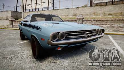 Dodge Challenger 1971 v2.2 PJ2 for GTA 4