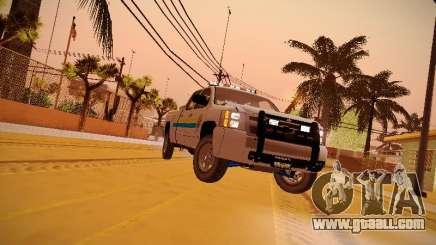 Chevrolet Silverado 2500HD Public Works Truck for GTA San Andreas