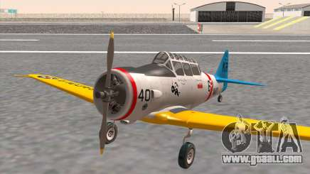 North American T-6 TEXAN N211A for GTA San Andreas