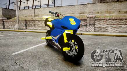 Yamaha R1 2007 Stunt for GTA 4