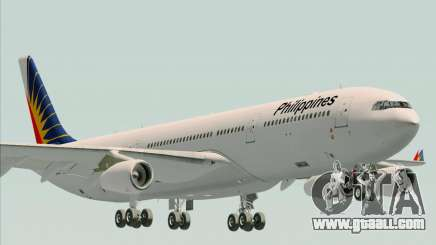 Airbus A340-313 Philippine Airlines for GTA San Andreas