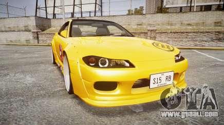 Nissan Silvia S15 Street Drift [Updated] for GTA 4