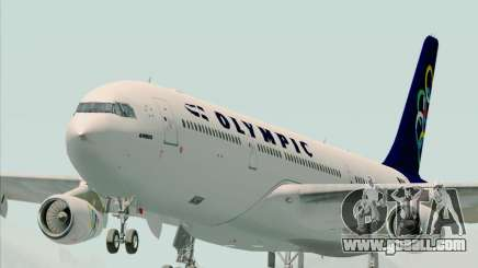 Airbus A340-313 Olympic Airlines for GTA San Andreas
