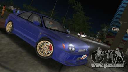 Subaru Impreza WRX 2002 Type 2 for GTA Vice City