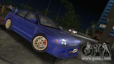 Subaru Impreza WRX 2002 Type 2 for GTA Vice City