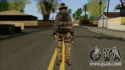 Task Force 141 (CoD: MW 2) Skin 13 for GTA San Andreas