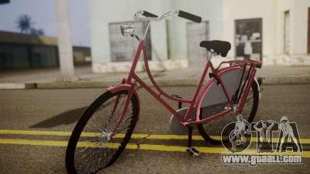 Amsterdam Bike for GTA San Andreas