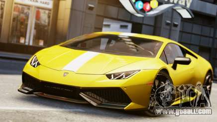 Lamborghini Huracan LP610-2 Valentino Balboni for GTA 4