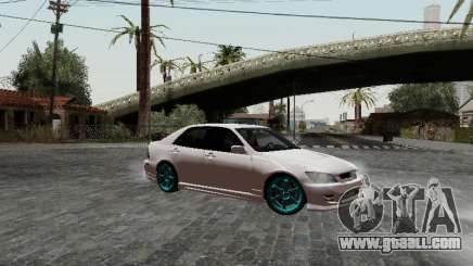 Toyota Altezza Addinol for GTA San Andreas